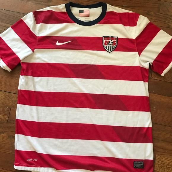 113f1892 Nike Shirts | 20122013 Wheres Waldo Us Soccer Jersey | Poshmark